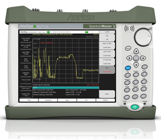 Spectrum Master Handheld Spectrum Analyzer MS2712E