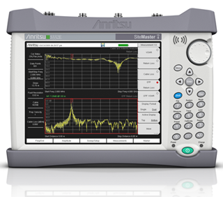 Site Master™ Cable & Antenna Analyzer + Spectrum Analyzer S332E