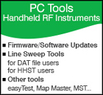 PC Tools for Handheld RF Instruments
